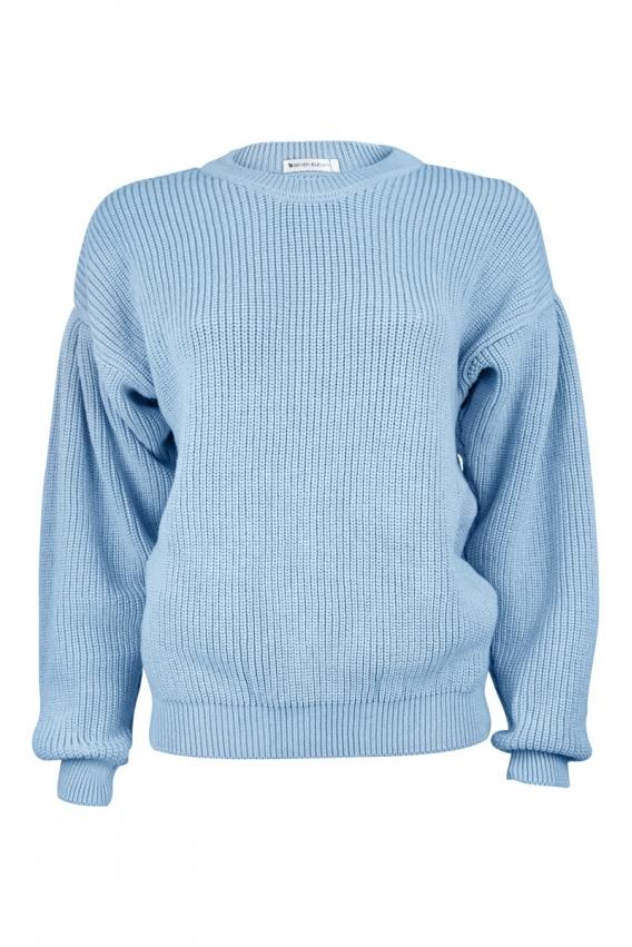 Manu sweater in light-blue