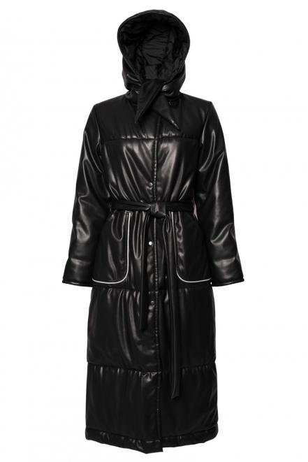 Eco-leather coat Aquifo