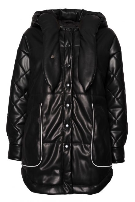 Vegan leather jacket Astera