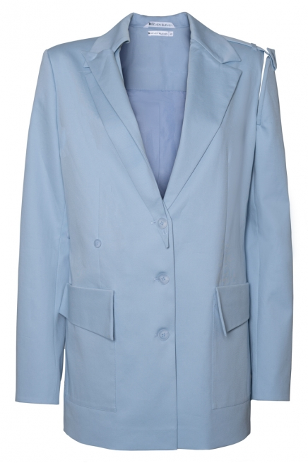 Jacket with detachable side Lamia