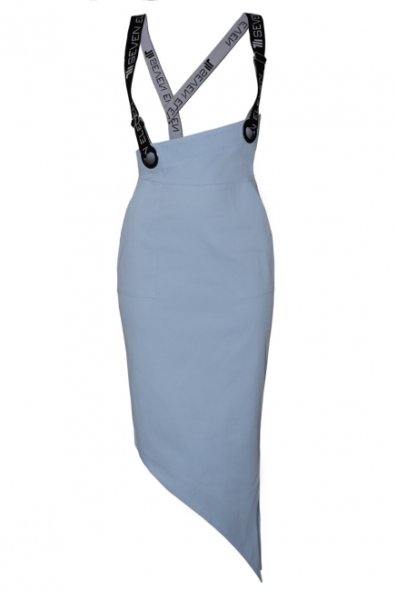 Asymmetrical tight-fitting skirt Dille